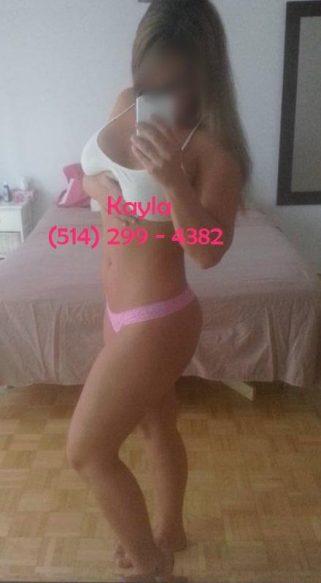 Montreal Escort Kayla 514-299-4382